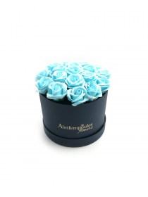 Παντοτινά Τριαντάφυλλα Από Σαπούνι Soap Flowers Baby Blue