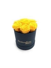Παντοτινά Τριαντάφυλλα Αποχυμωμένα Sunny Yellow Forever Rose