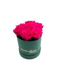 Παντοτινά Τριαντάφυλλα Αποχυμωμένα Φούξια Forever Rose