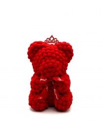 Αρκουδάκι Bear Pom-Pom Κόκκινο