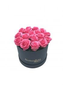 Παντοτινά Τριαντάφυλλα Από Σαπούνι Soap Flowers Φούξια