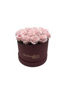 Παντοτινά Τριαντάφυλλα Από Σαπούνι Soap Flowers Baby Pink