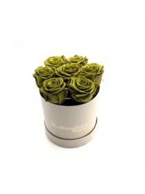 Παντοτινά Τριαντάφυλλα Αποχυμωμένα Emerald Green Forever Rose