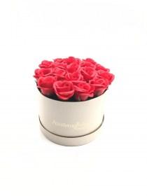 Παντοτινά Τριαντάφυλλα Από Σαπούνι Soap Flowers Red Passion