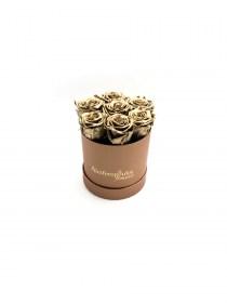 Παντοτινά Τριαντάφυλλα Αποχυμωμένα Χρυσά Forever Rose